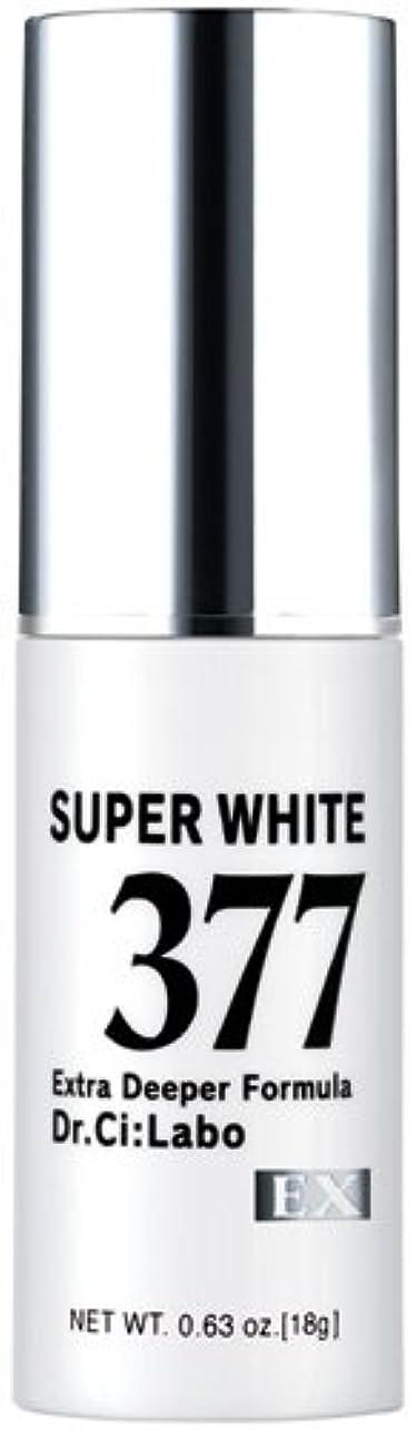 伝染病天の年金ドクターシーラボ スーパーホワイト377EX 18g