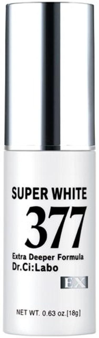 増強デイジー魅力的ドクターシーラボ スーパーホワイト377EX 18g