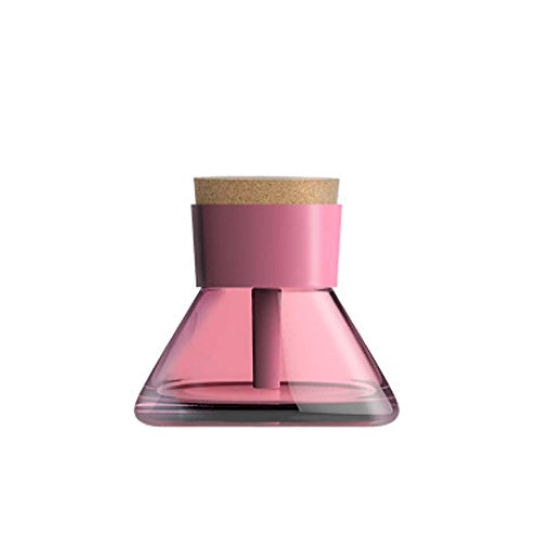 スプレー加湿器、香水アトマイザー、USB香水瓶夜光 (色 : ピンク)