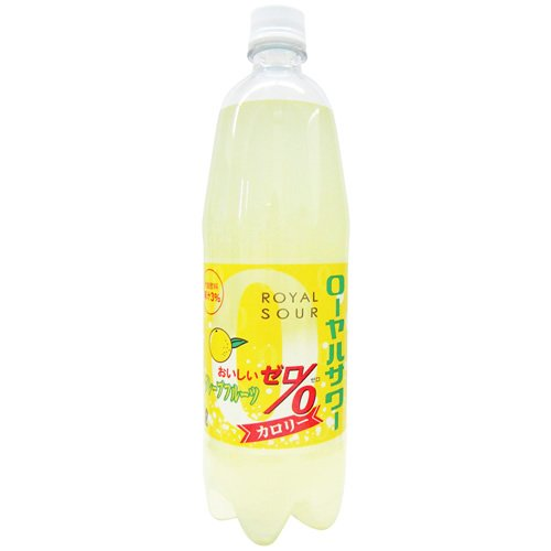 木村飲料 ローヤルサワー おいしいゼログレープフルーツ ペット 1000ml