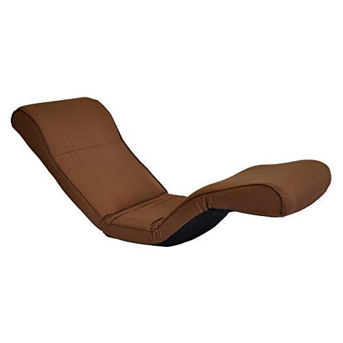 座椅子 ボディサポートチェアND2 ブラウン ナノヘキサ 日本製