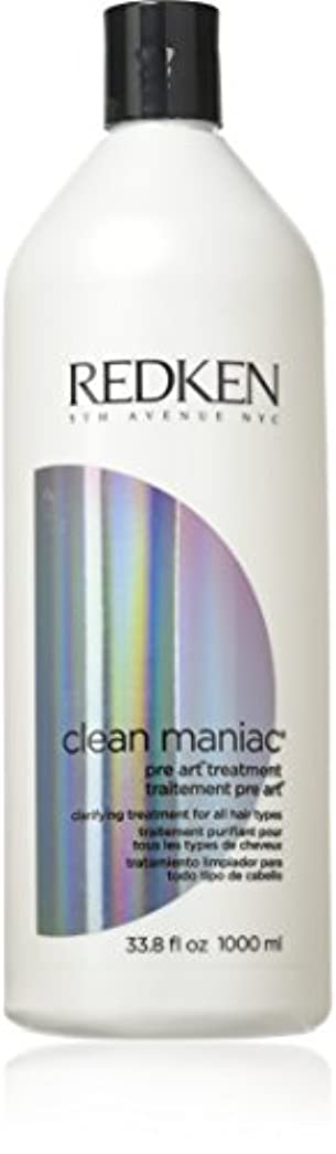 アシスト凝視シプリーレッドケン Clean Maniac Pre Art Treatment Clarifying Treatment (For All Hair Types) 1000ml/33.8oz並行輸入品