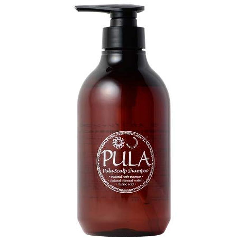 ずっと一次過言プーラ スカルプ シャンプー 500ml 【 天然フレグランス/頭皮に優しい 】 ヘッドスパ専門店 PULA 自然由来配合