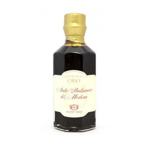 マニカルディ バルサミコ酢 ゴールドカスク 瓶 250ml