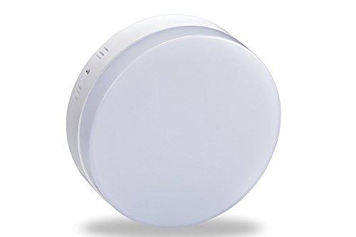LEDシーリングライト 工事不要 簡単取付 和室 寝室 北欧 小型 照明器具 おしゃれ 12W/18W (18W, 昼白色) 1440lm …