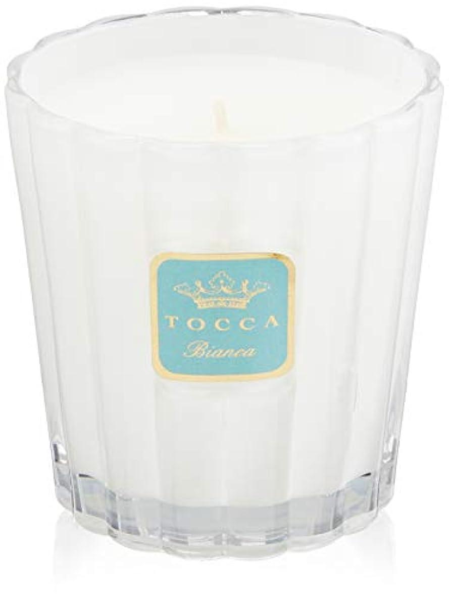 寛容グリップ恵みトッカ(TOCCA) キャンドル ビアンカの香り 約287g (ろうそく ほのかに甘さ漂うフレッシュな香り)