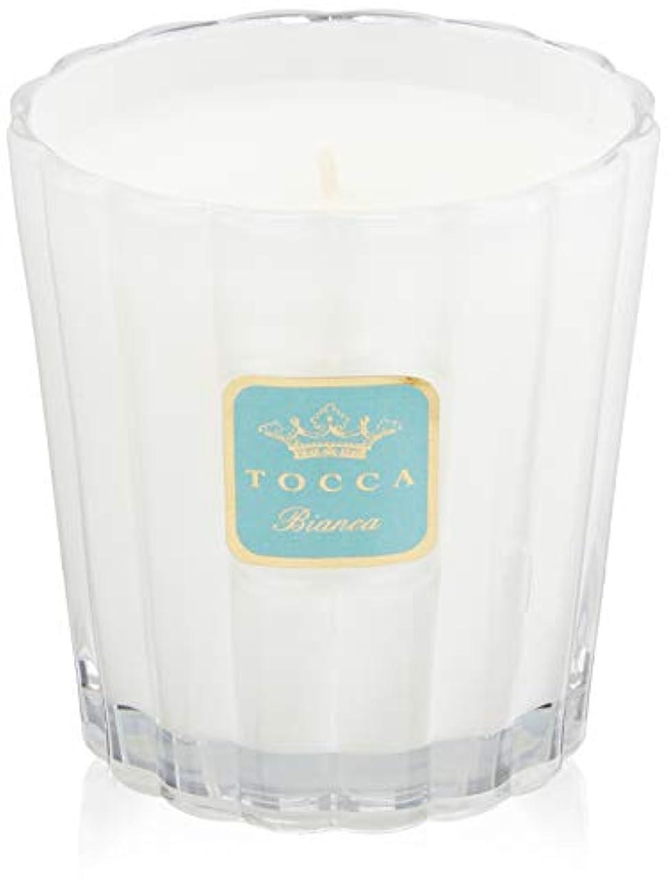 コメントアテンダントカーペットトッカ(TOCCA) キャンドル ビアンカの香り 約287g (ろうそく ほのかに甘さ漂うフレッシュな香り)