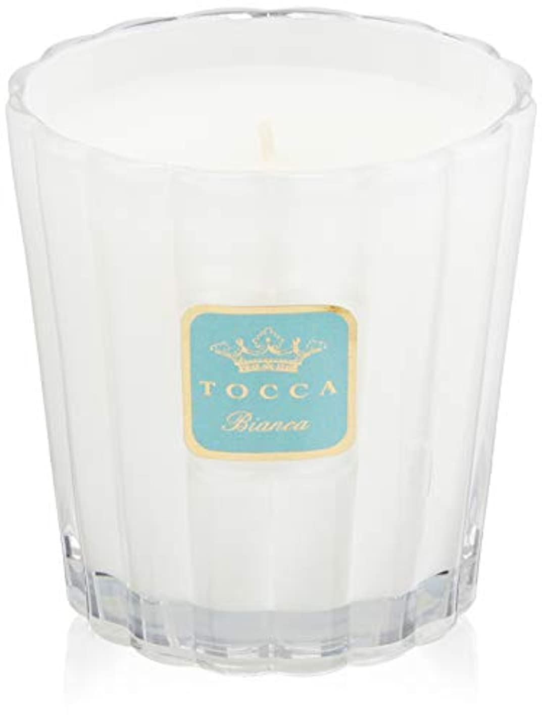 ヨーロッパ旋律的眩惑するトッカ(TOCCA) キャンドル ビアンカの香り 約287g (ろうそく ほのかに甘さ漂うフレッシュな香り)