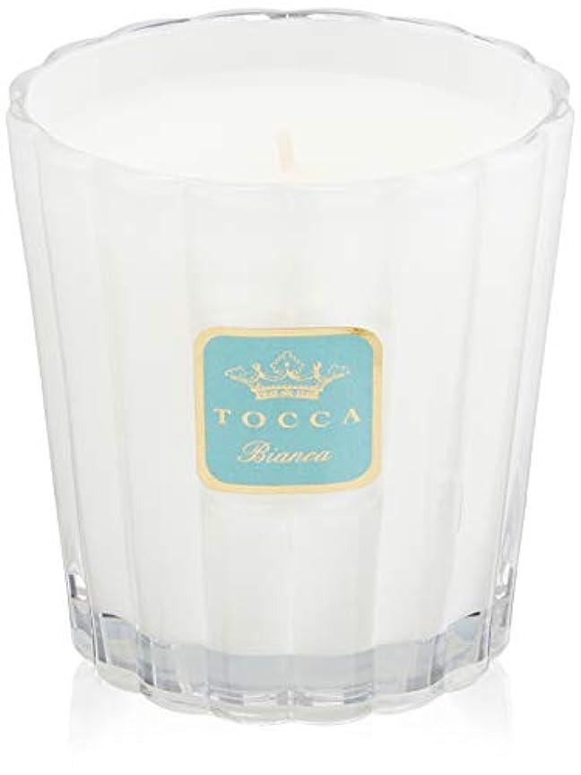 不規則性建築争いトッカ(TOCCA) キャンドル ビアンカの香り 約287g (ろうそく ほのかに甘さ漂うフレッシュな香り)