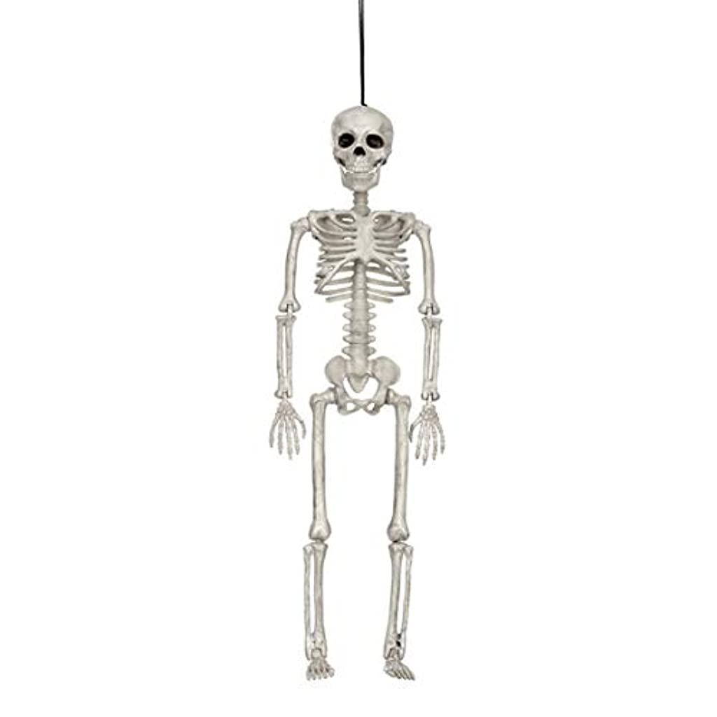 体増幅するモデレータハロウィン人間の骨格モデルホラーディスプレイペンダント小道具デスクトップの装飾