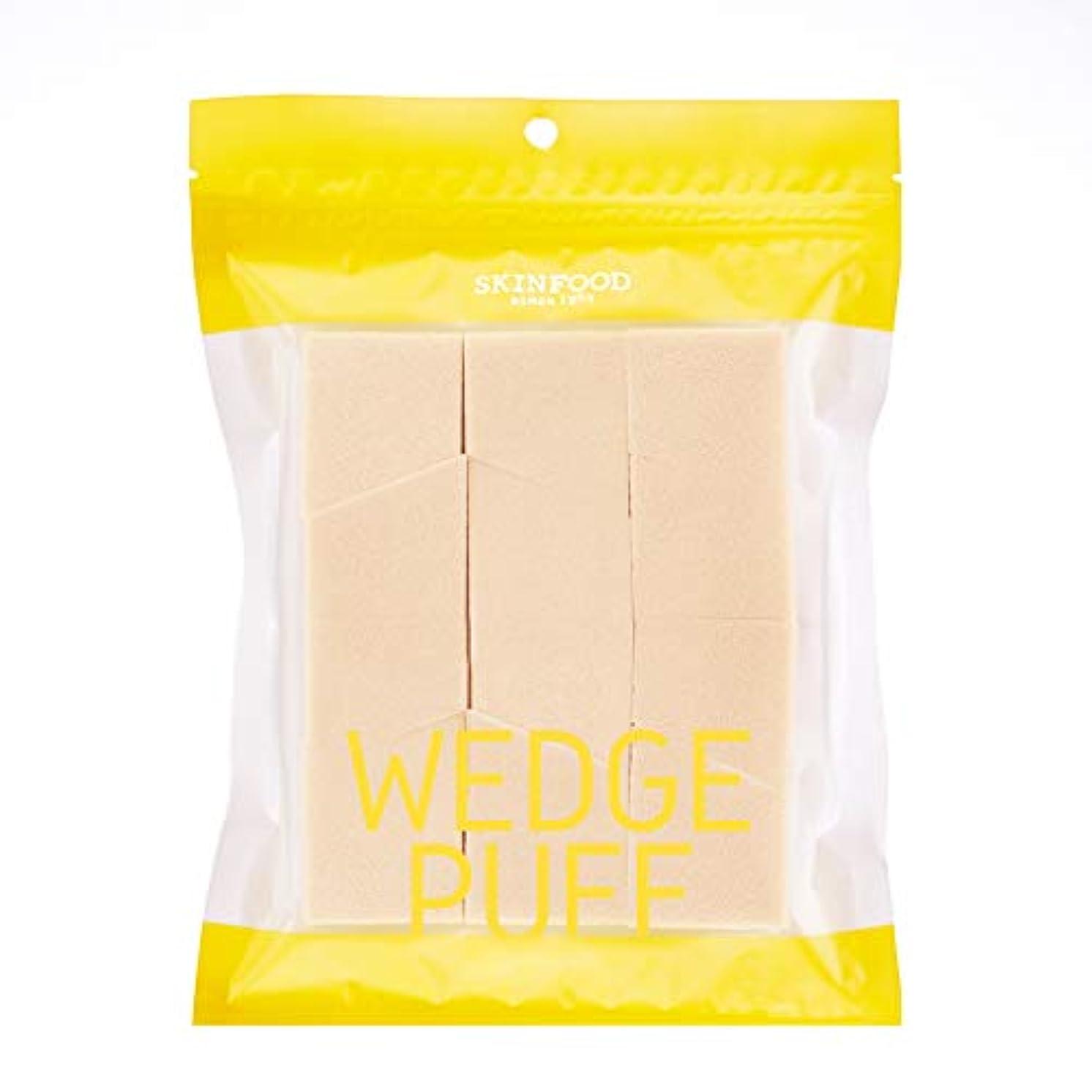 限り覚えているファブリック[2016 New] SKINFOOD Wedge Puff Sponge Jumbo Size (12pcs)/スキンフード ウェッジ パフ スポンジ ジャンボサイズ (12個入り)