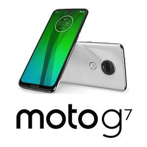 Motorola moto g7 クリアホワイト[6.24インチ / メモリ 4GB ストレージ 64GB] Motorola(モトローラ) モトローラ PADY0001JP
