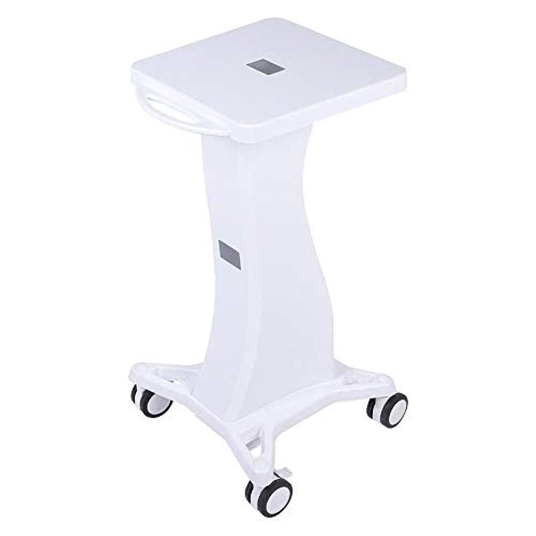 ピクニックをするシネマ鎖サロン使用のためのハンドル台座ローリングカートホイールスタンド付き美容トロリー美容ツール