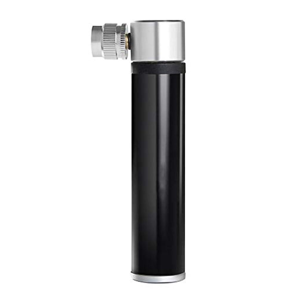 極貧ガラスゲージGsahs 自転車ポンプミニポータブル安全で快適な耐久性と便利なポンプを使いやすい (Color : Black)