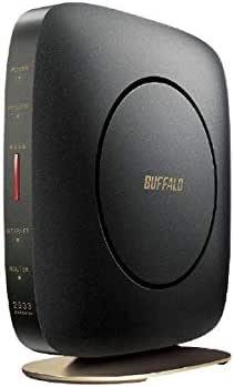 バッファロー WSR-2533DHP2-CB 無線LAN親機 11ac/n/a/g/b 1733+800Mbps エアステーション ハイパワー Giga クールブラック