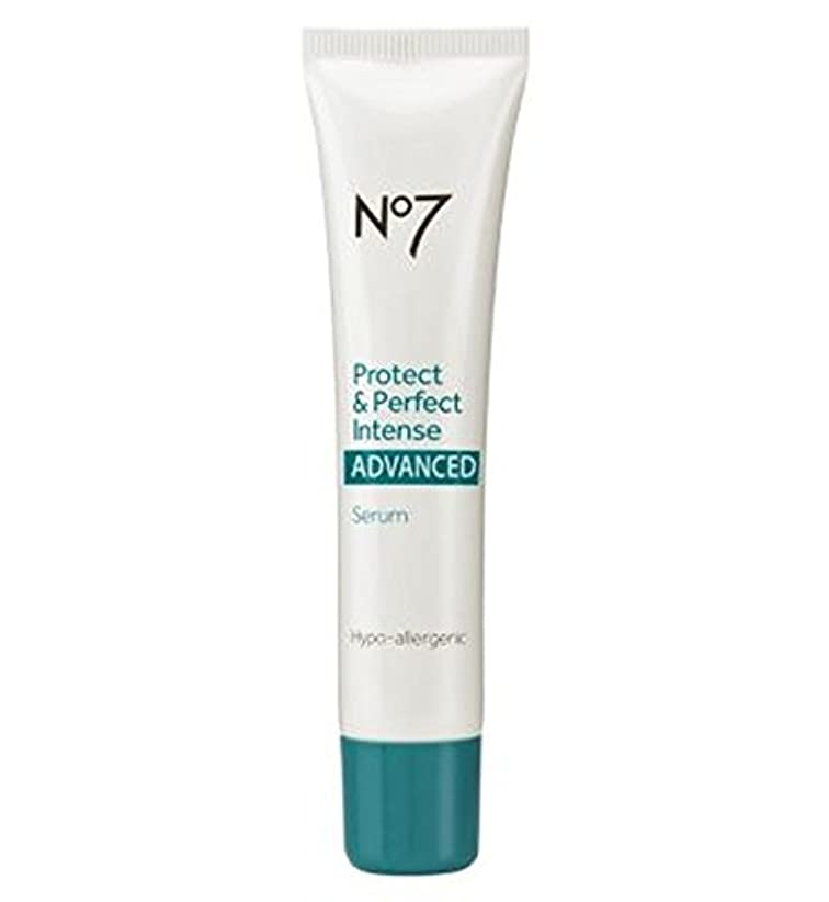 不快な計算可能春No7 Protect & Perfect Intense ADVANCED Serum 30ml - No7保護&完璧な強烈な高度な血清30ミリリットル (No7) [並行輸入品]