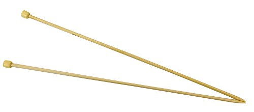 ハマナカ アミアミ 玉付2本針 長さ33cm 8号 H250-100-8