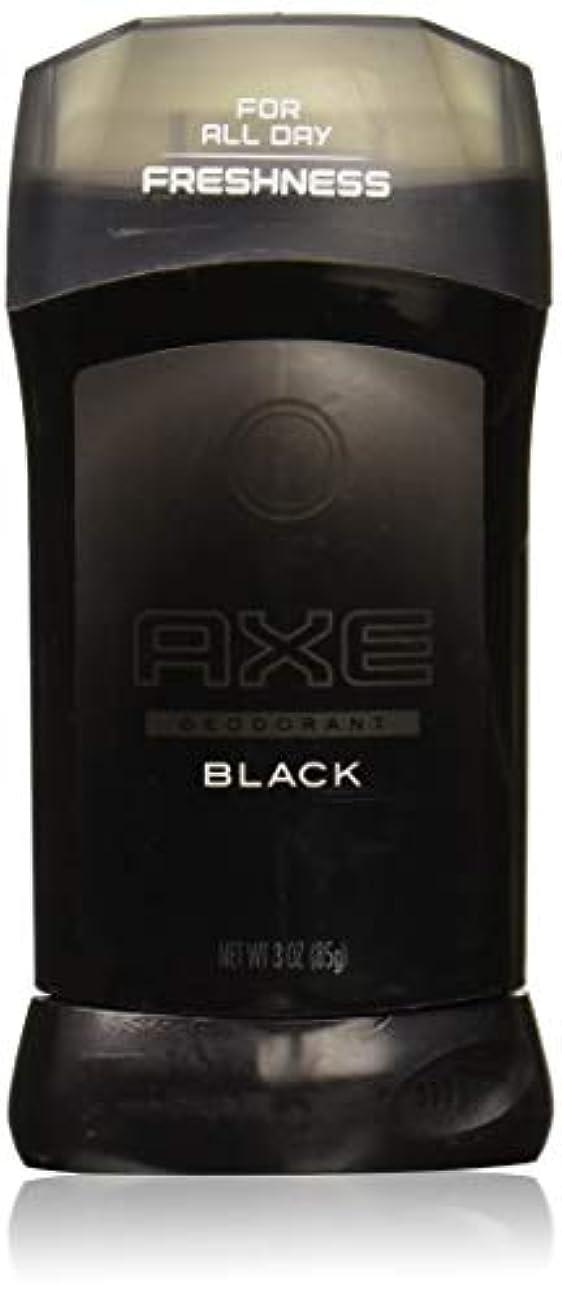 幾分パーフェルビッド健康AXE Black Deodorant Stick for Men 3oz [並行輸入]