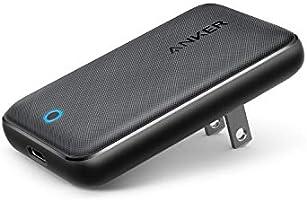 Anker PowerPort Atom III Slim (PD対応 30W USB-C 急速充電器)【世界最薄デザイン/PSE認証済/PowerIQ 3.0搭載 / Power Delivery 対応/折りたたみ式プラグ】 iPhone...