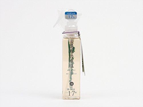 K 昆布の水塩 海 17% 150ml