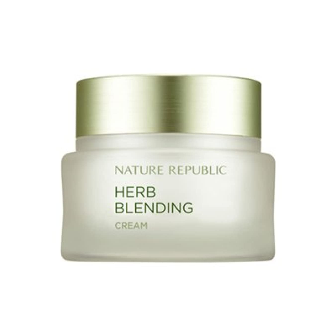チキンプロペラ美的NATURE REPUBLIC Herb Blending Cream ネイチャーリパブリック ハーブブレンドクリーム [並行輸入品]