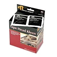 テープヘッドKleenパッド、個別シールドパッド、5x、5、80/ボックスSold As 1ボックス, 80各perボックス 1-Pack RR1301