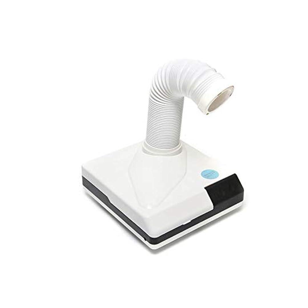 追い出す混乱した白鳥60W 強い力 爪 集塵機 吸引 ほこり 掃除機 リトラクタブル 肘 設計 ために アートマニキュア 掃除 アートツール (Color : White)