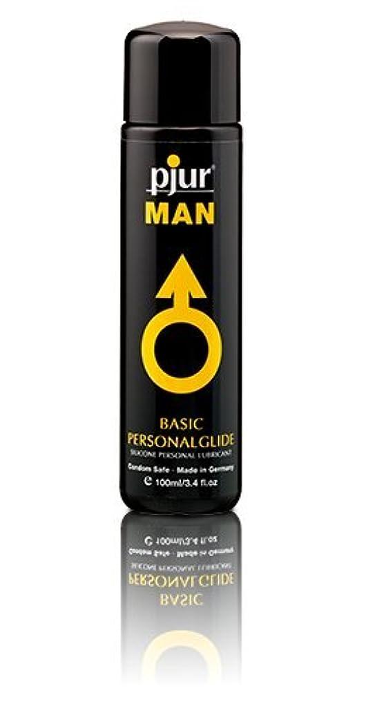 禁止するまたはバタフライPjur Man Basic Personalglide Flasche Lubricant - 100ml