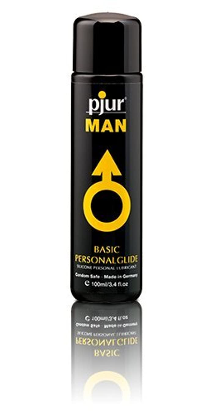 仕出しますチロ警告Pjur Man Basic Personalglide Flasche Lubricant - 100ml