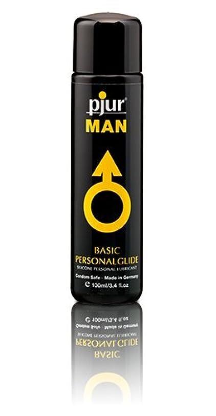 きらめきなる聴覚Pjur Man Basic Personalglide Flasche Lubricant - 100ml