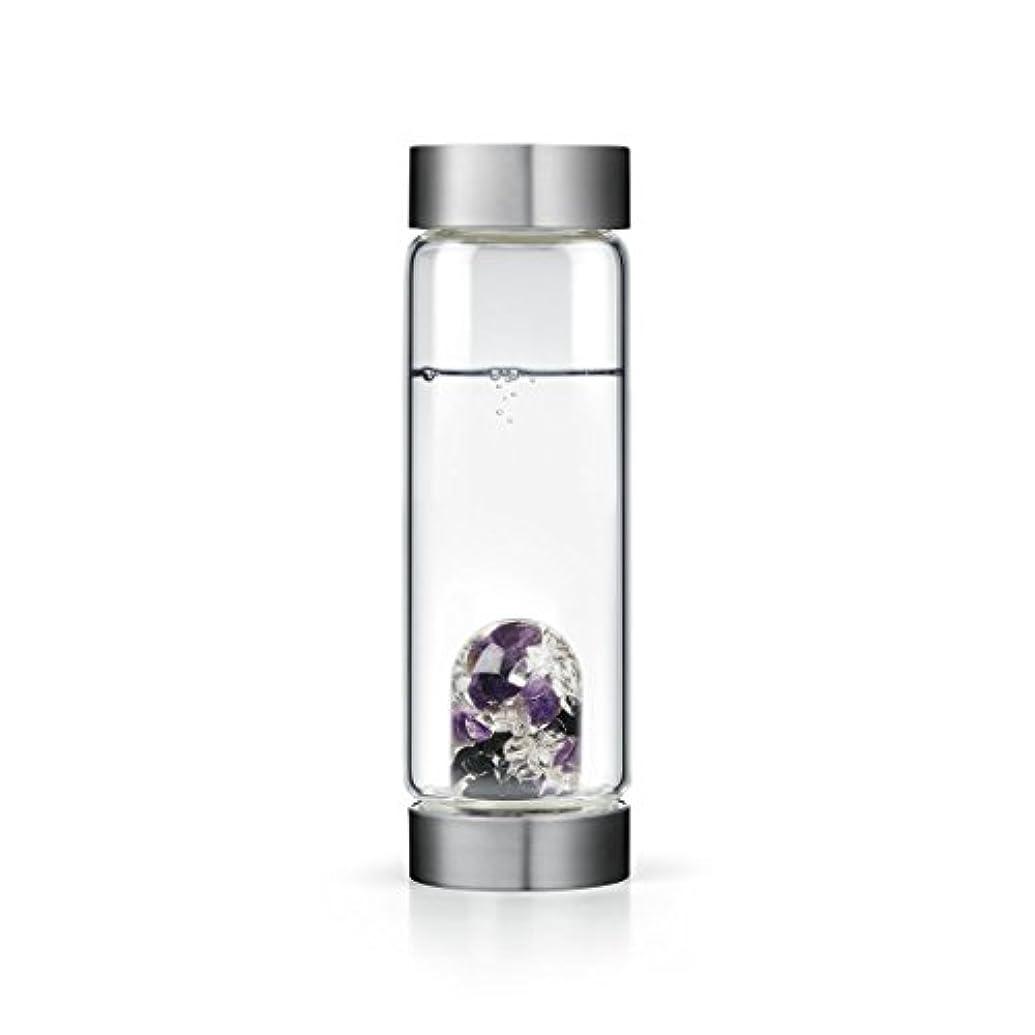 こっそり夜昆虫Guardian gem-waterボトルby VitaJuwel W / Freeカリフォルニアホワイトセージバンドル 16.9 fl oz