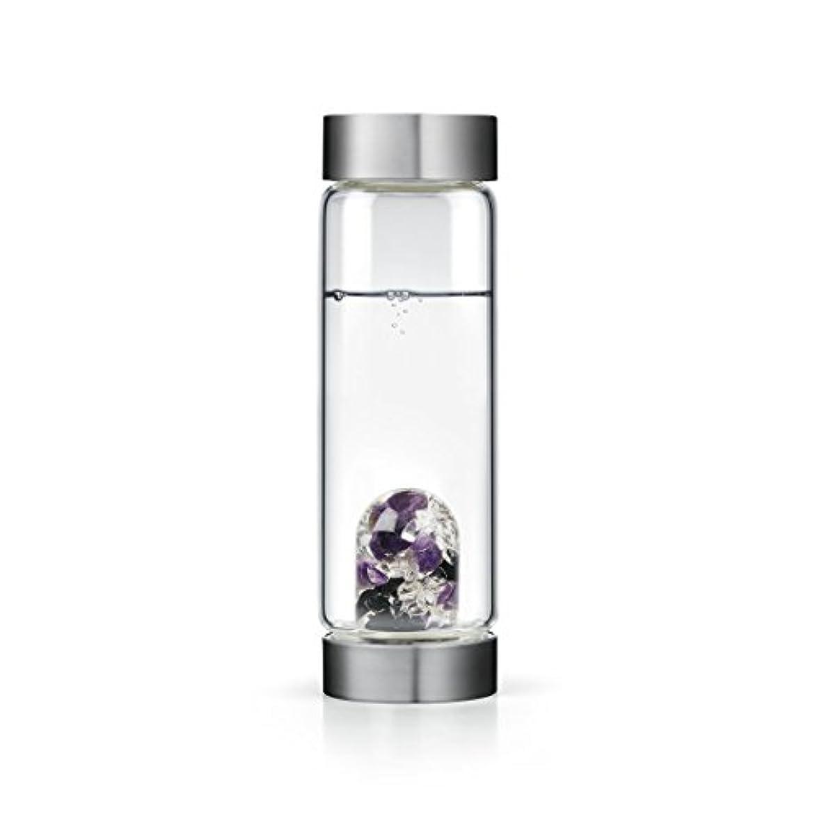 毎月残基大Guardian gem-waterボトルby VitaJuwel W / Freeカリフォルニアホワイトセージバンドル 16.9 fl oz