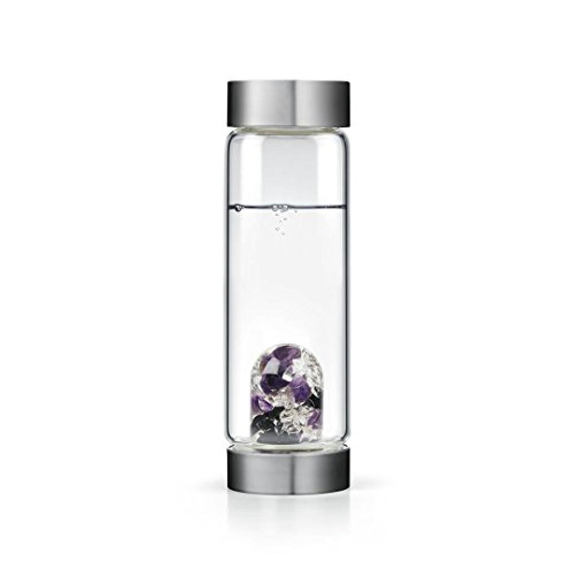 カンガルー灰不正Guardian gem-waterボトルby VitaJuwel W / Freeカリフォルニアホワイトセージバンドル 16.9 fl oz