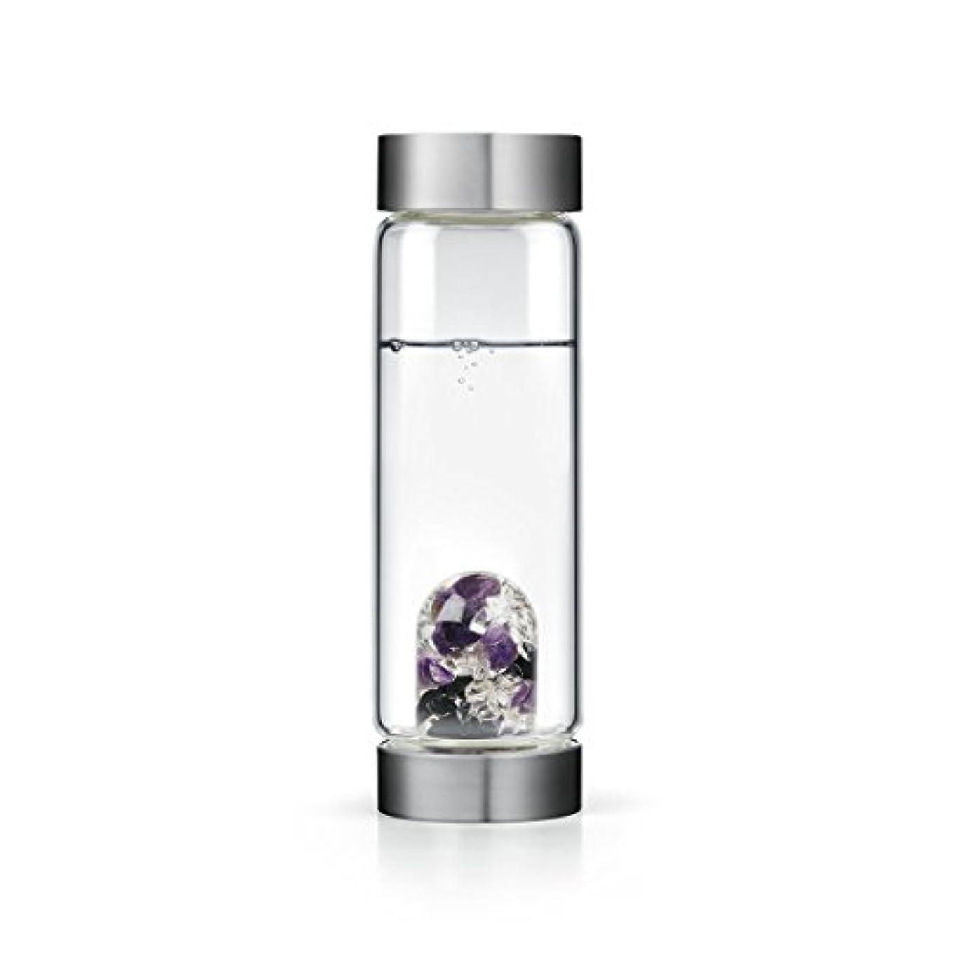 蜜ランデブー洞窟Guardian gem-waterボトルby VitaJuwel W / Freeカリフォルニアホワイトセージバンドル 16.9 fl oz