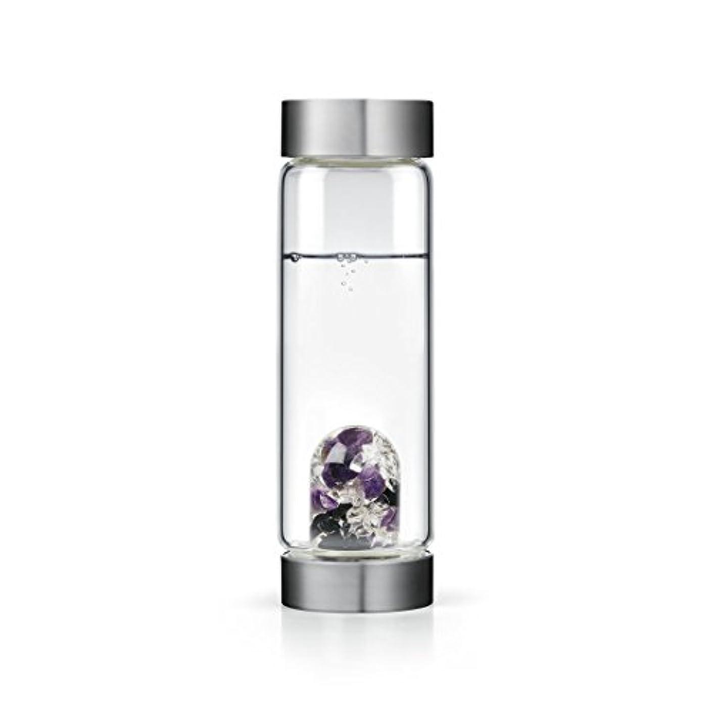 誤解を招く窓広くGuardian gem-waterボトルby VitaJuwel W / Freeカリフォルニアホワイトセージバンドル 16.9 fl oz