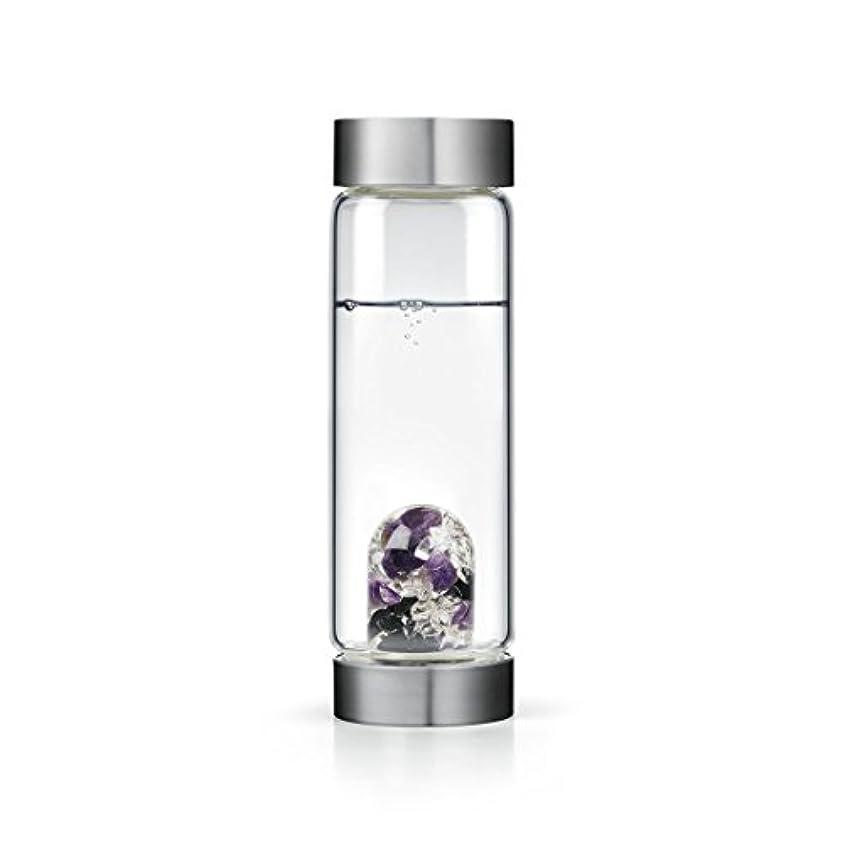 前奏曲法的気性Guardian gem-waterボトルby VitaJuwel W / Freeカリフォルニアホワイトセージバンドル 16.9 fl oz