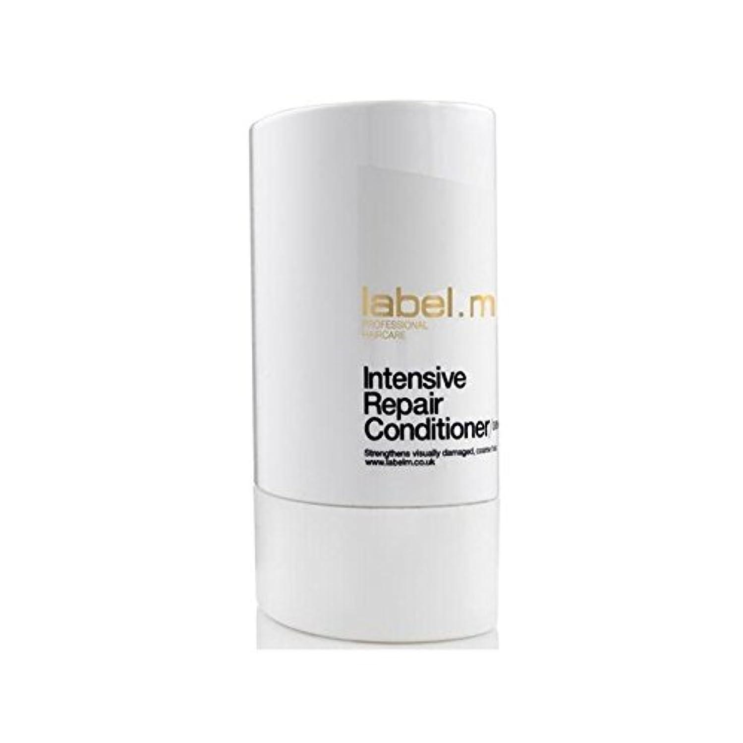鑑定整然とした薬を飲むLabel.M Intensive Repair Conditioner (300ml) - .の集中リペアコンディショナー(300ミリリットル) [並行輸入品]