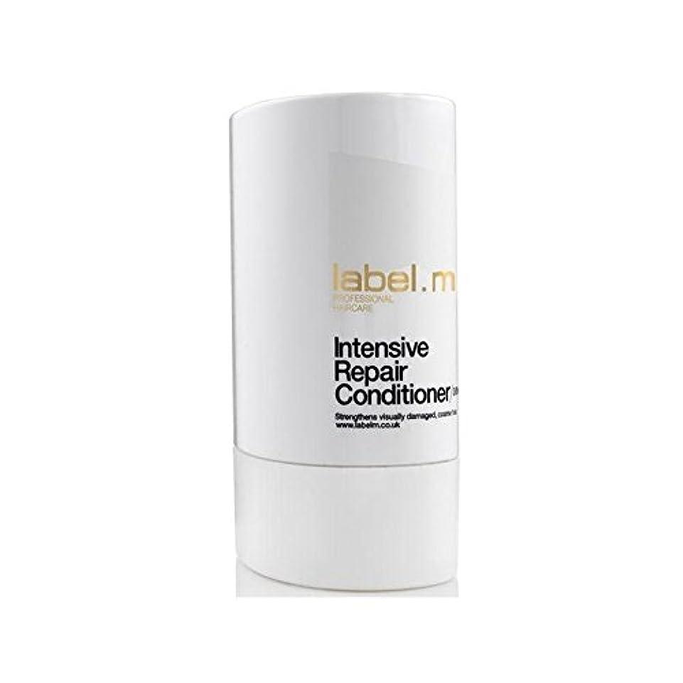 貫通従順な数値Label.M Intensive Repair Conditioner (300ml) - .の集中リペアコンディショナー(300ミリリットル) [並行輸入品]