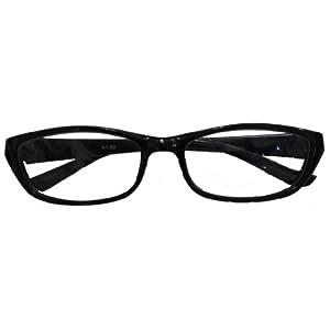 ワームス シニアグラス WT-1026-1 ブラック +2.50(老眼鏡)