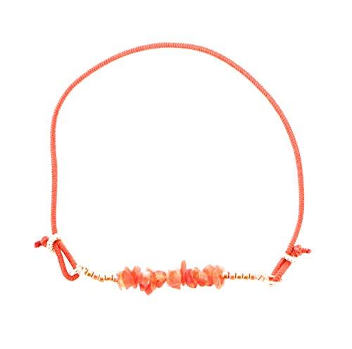 [トロカール] TROCAR TROCAR Bracelet Collection ブレスレット 天然石 オレンジ カーネリアン 070012-11
