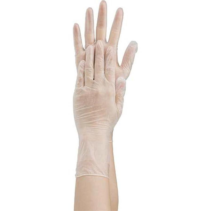 示す流用する知覚的共和 プラスチック手袋 粉無 No.2500 M 10箱
