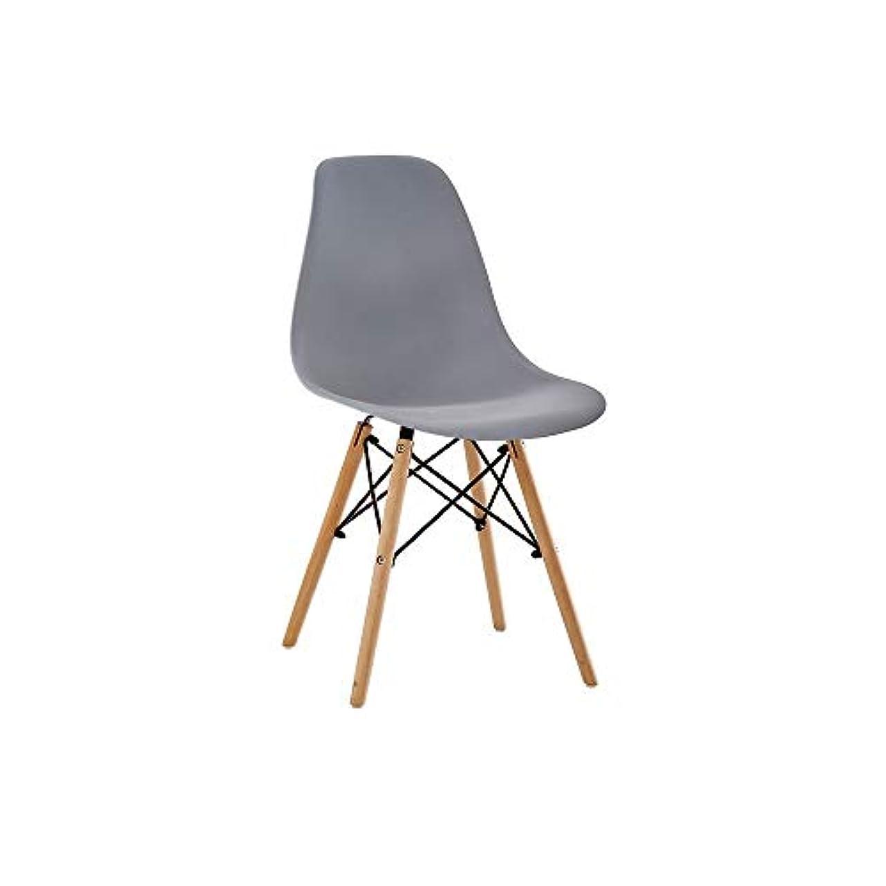 レガシー委託ピストン屋内と屋外のアフタヌーンティーラウンジチェアシンプルでモダンなスタイル、複数の色PP全体の背もたれ椅子ホーム (色 : I)