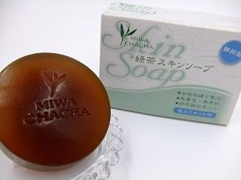かび臭い時間厳守サイレント緑茶スキンソープ(2個セット)