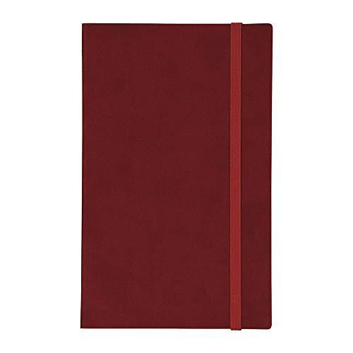 エディット 週末重視の月間手帳 A5スリム スープル [オリエンタルレッド]