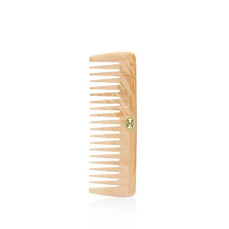 極めて中央値オレンジBath Accessories Wood Detangling Comb [並行輸入品]