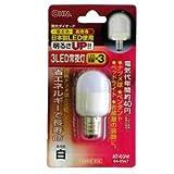 オーム LED電球 ナツメ形(白色)OHM AT-03W