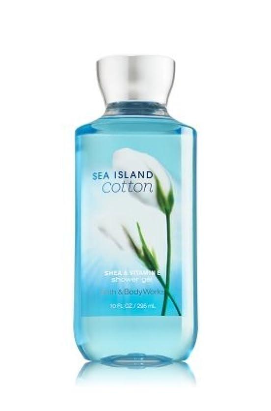 辞任強化費用【Bath&Body Works/バス&ボディワークス】 シャワージェル シーアイランドコットン Shower Gel Sea Island Cotton 10 fl oz / 295 mL [並行輸入品]