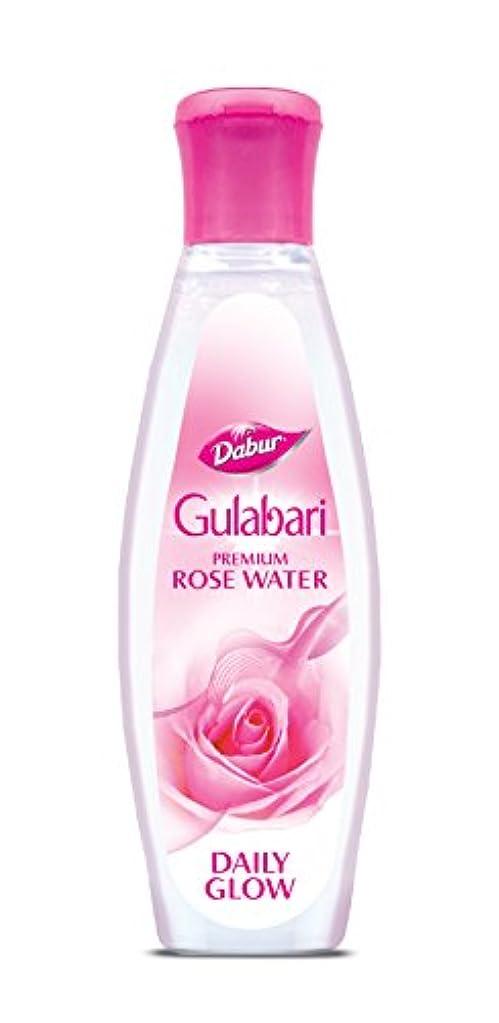 苦い供給拷問Dabur Gulabari Premium Rose Water( Gulab Jal)-120ml
