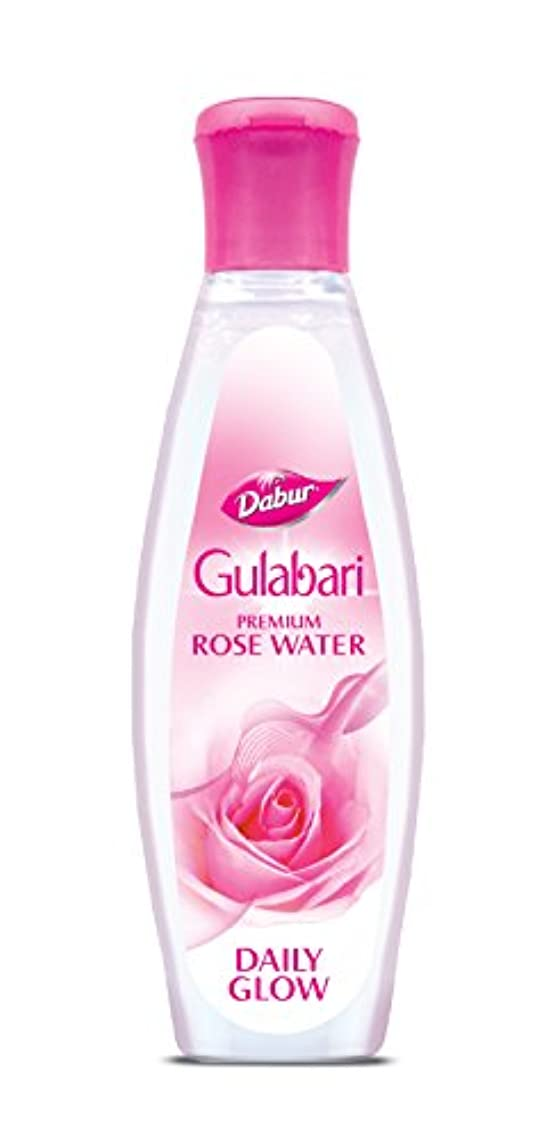 レンダリング重なる闘争Dabur Gulabari Premium Rose Water( Gulab Jal)-120ml