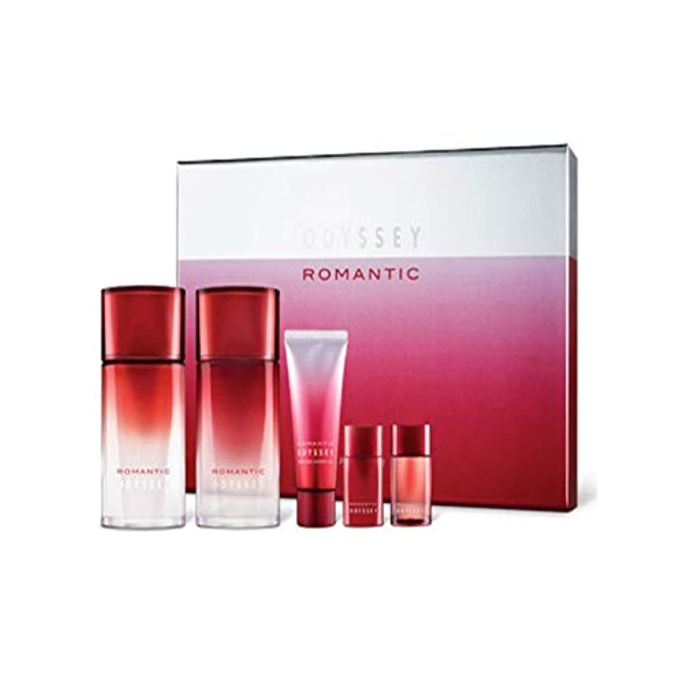 目に見える上向き顧問オデッセイロマンチックスキンリファイナーローションセットメンズコスメ韓国コスメ、Odyssey Romantic Skin Refiner Lotion Set Men's Cosmetics Korean Cosmetics...